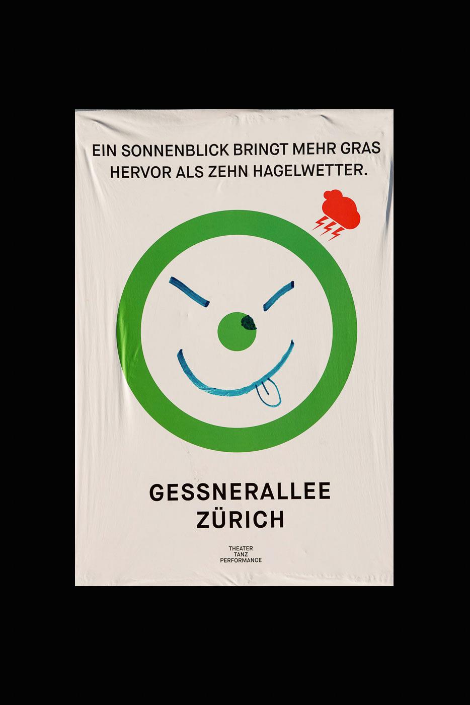 Gessnerallee Zürich | Plakatkampagne 2014/15