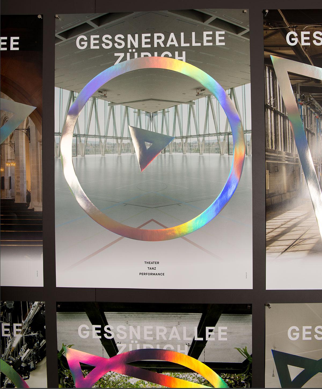 Gessnerallee Zürich | Plakatkampagne 2015/16