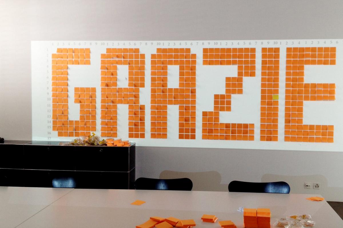 Sunrise | Beratung «Schrift im Raum» - Kampagne