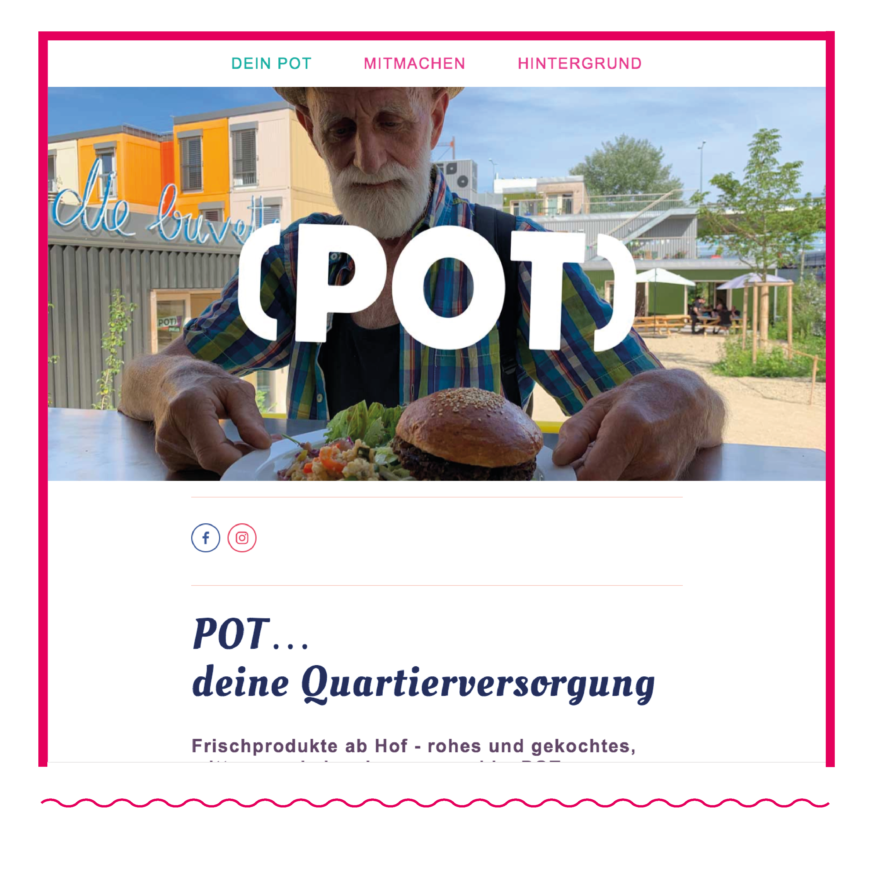 POT | Konzept, Print und Web