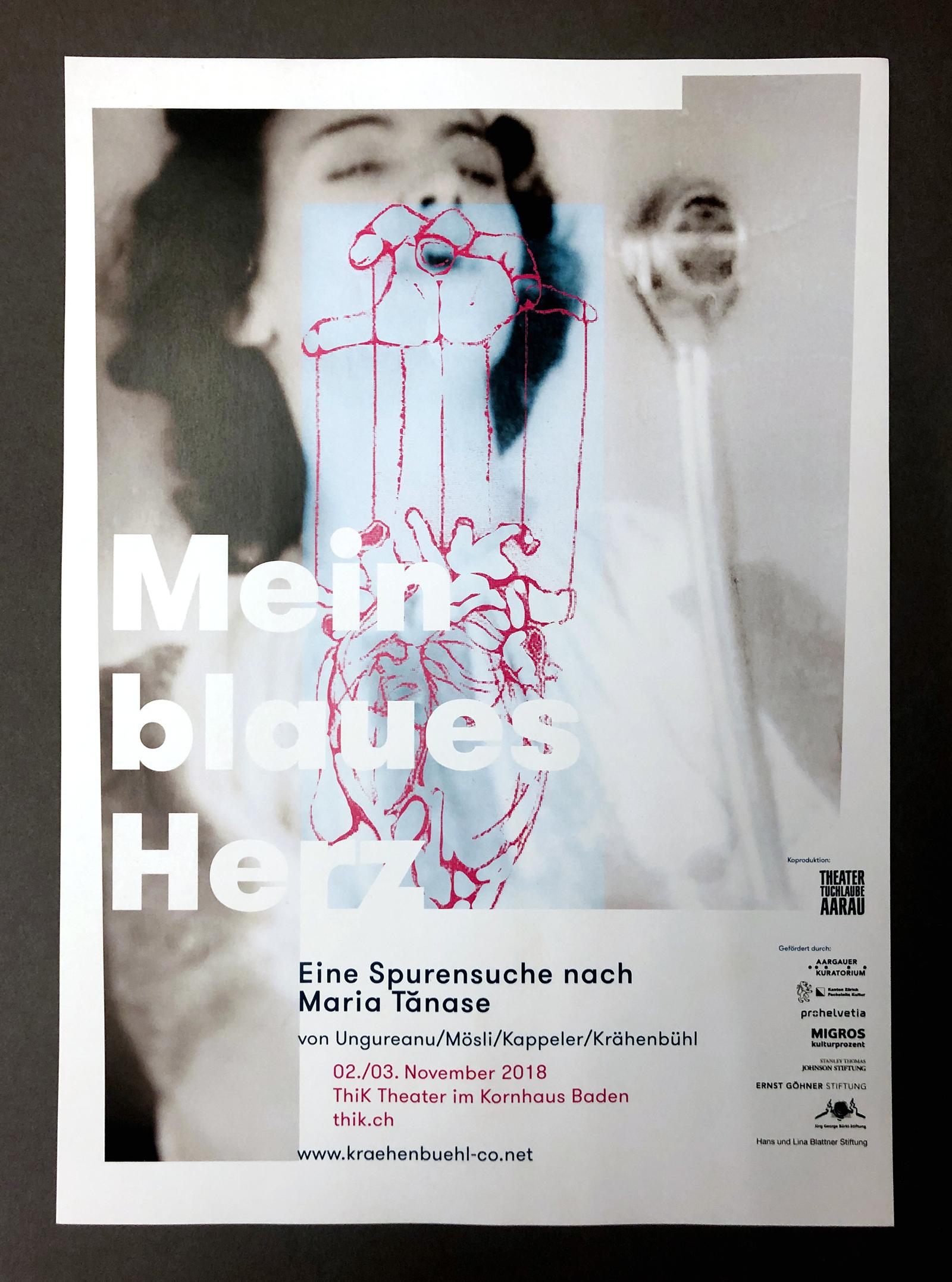 Krähenbühl & Co |Werbemittel diverse Theater-Produktionen